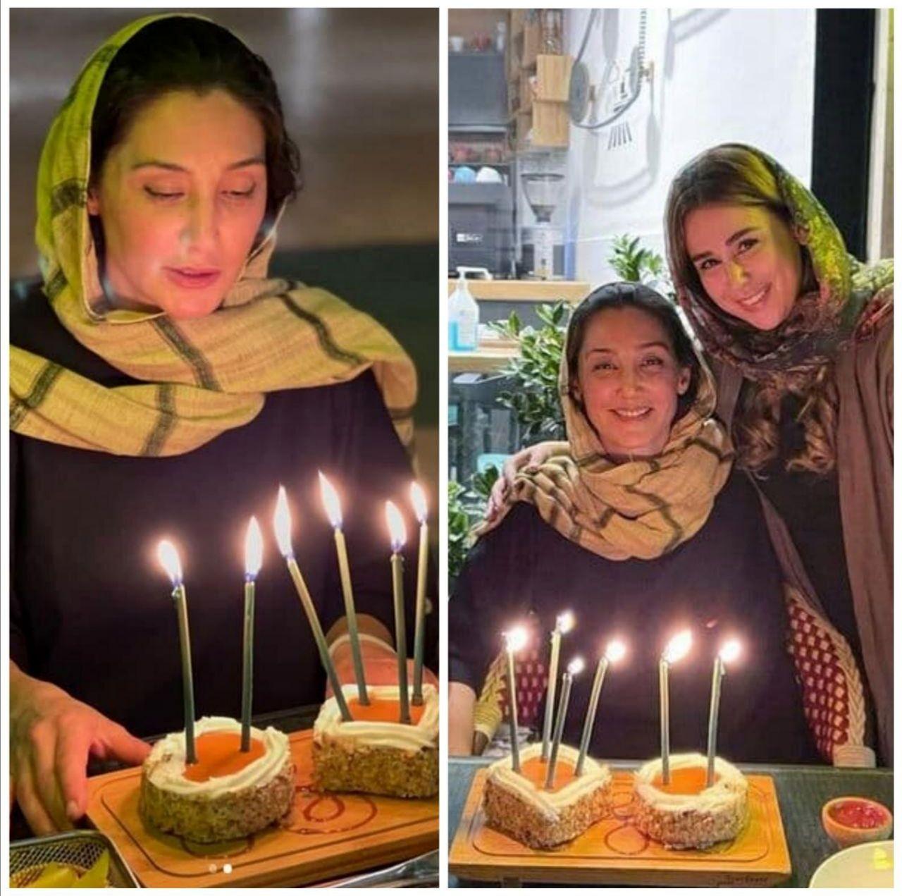 عکس های جشن تولد هدیه تهرانی