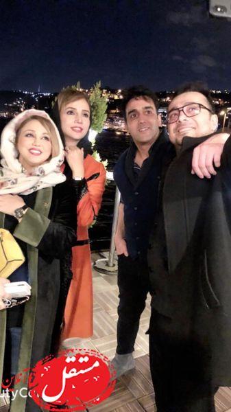 سلفی پوریا پورسرخ با دوستان مشهورش + عکس