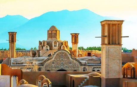 معرفی خانه بروجردیها در کاشان؛ جواهر معماری سنتی ایران