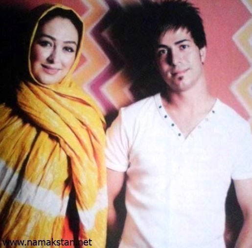 عکس الهام حمیدی و همسر اولش