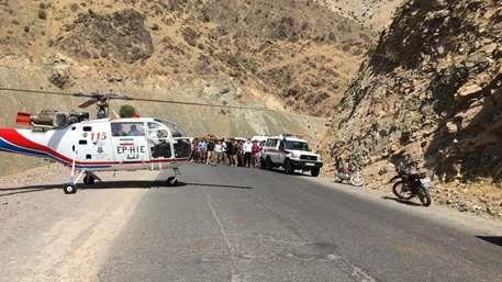 سقوط مرگبار مینی بوس به دره در پالنگان + عکس