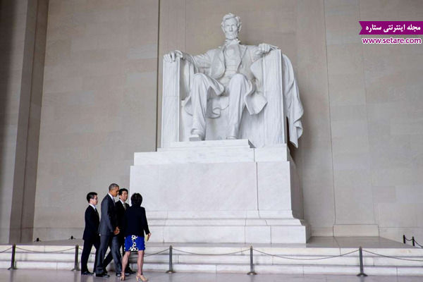 بنای یادبود لینکلن، واشنگتن، مارتین لووترکینگ