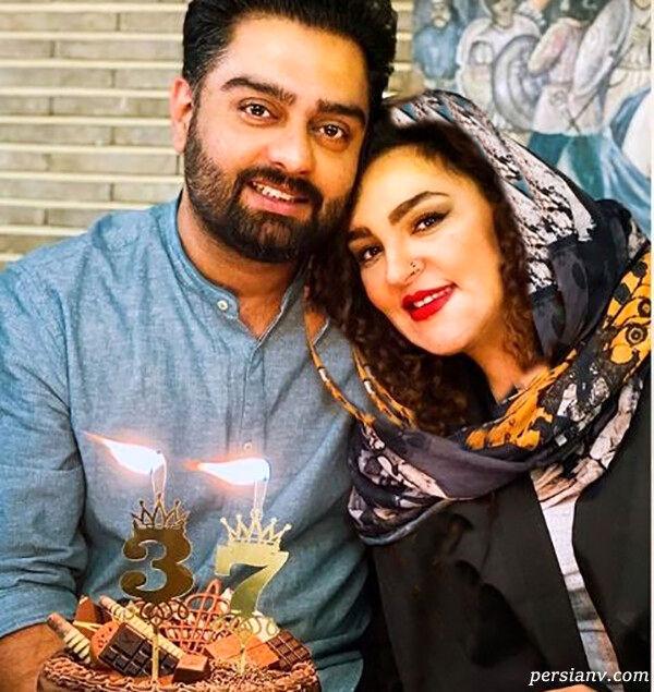 ایمان قیاسی، مجری عصر جدید در کنار همسرش + عکس لورفته