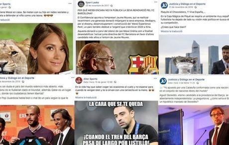 اکانتهای فیک بلای جان بارسلونا