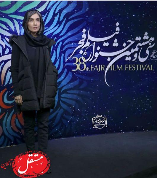 لیلا زارع در سی و هشتمین جشنواره فجر + عکس