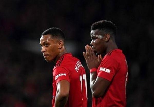 پوگبا و مارسیال غایبان منچستریونایتد مقابل لسترسیتی