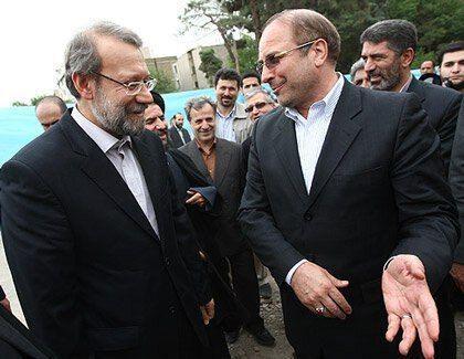 رئیس مجلس یازدهم قالیباف است، رئیس جمهور سیزدهم لاریجانی