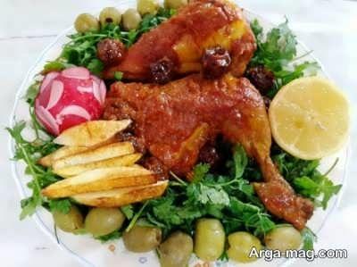 دستور پخت مرغ سوخاری خوشمزه + عکس
