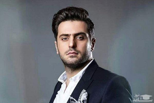 علی ضیا با چهره ای خسته + عکس
