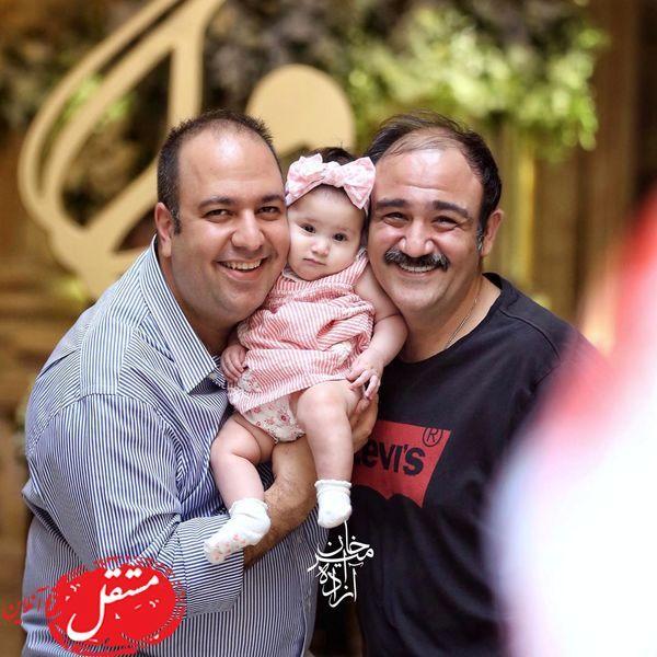 علی اوجی و مهران غفوریان در یک قاب