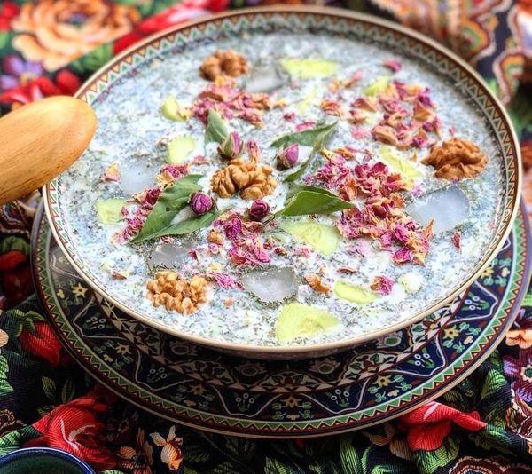 طرز تهیه آبدوغ خیار مجلسی + عکس