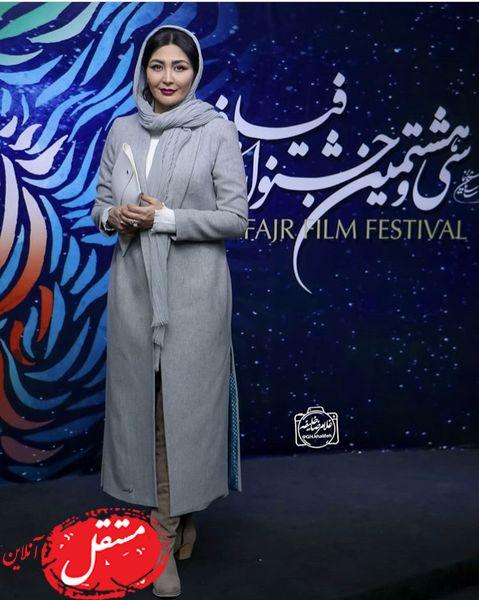 پوشش مریم معصومی در جشنواره فجر + عکس