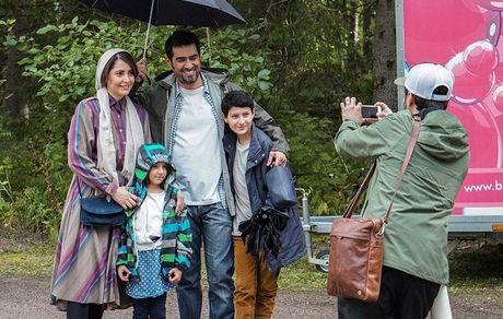 شهاب حسینی و هوادارانش + عکس