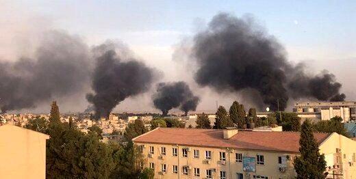 ترکیه، سوریه را بمباران کرد/سوریه، ترکیه را گلولهباران کرد