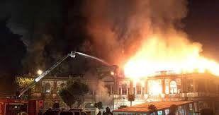 آتش سوزی بناهای تاریخی تهران از پلاسکو تا حسن آباد