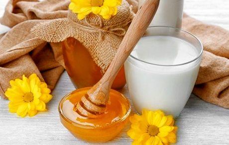 خواص شیر همراه گلاب و عسل