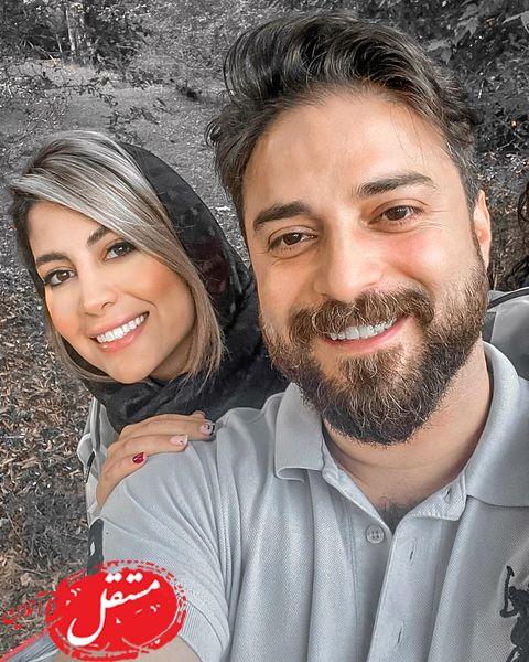 خوش گذرونی لاکچری بابک جهانبخش و همسرش در کیش + تصاویر