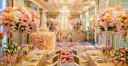 عروسی به سبک سیندرلا در لواسان با هزینه 1میلیاردی