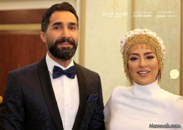 هادی کاظمی و سمانه پاکدل ازدواج کردند +عکس و تبریک چهره ها