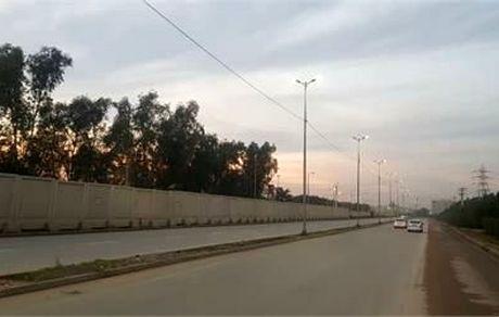 تامین روشنایی جادههای دسترسی به شرکت فولاد خوزستان