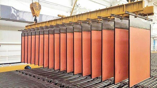 تولیدکاتد مساز 280هزار تن عبور کرد