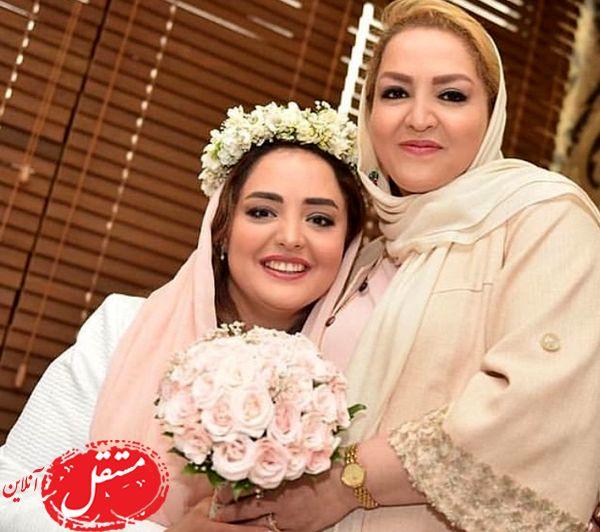 ستایش و مادرش در عروسی + عکس
