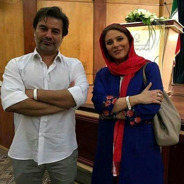 جنجال رونمایی پیمان قاسمخانی از همسر دومش  + تصاویر دیده نشده
