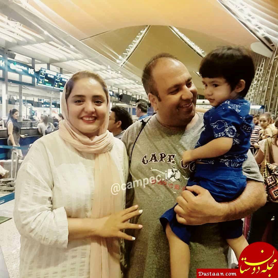 www.dustaan.com بیوگرافی و عکس های دیدنی نرگس محمدی و همسرش علی اوجی!