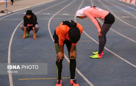 راه سخت دختران دوومیدانی تا المپیک ۲۰۲۰