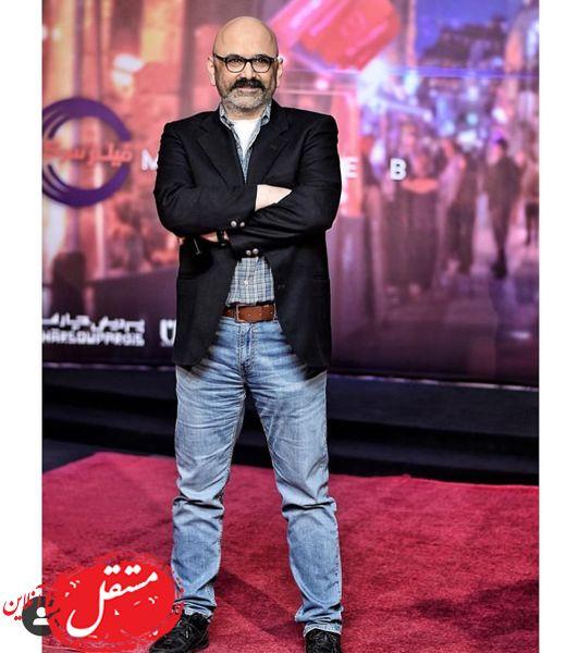 حبیب رضایی در مراسم مطرب + عکس