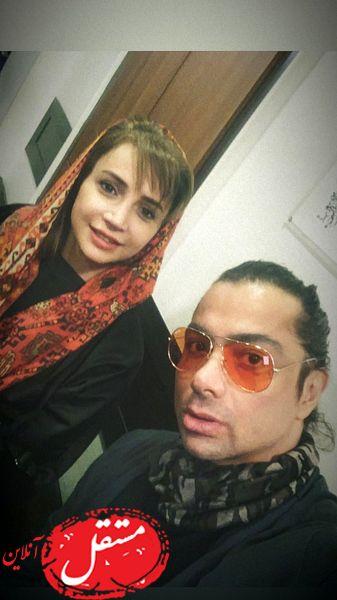 شبنم قلی خانی در کنار آقای دکتر بازیگر + عکس