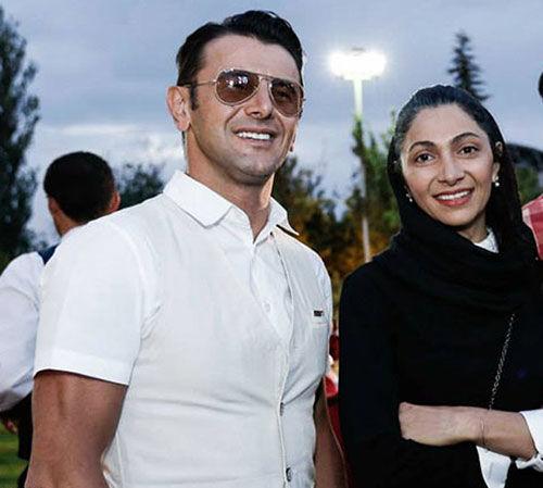 عاشقانه های امین حیایی  و همسر دومش  + عکس و بیوگرافی