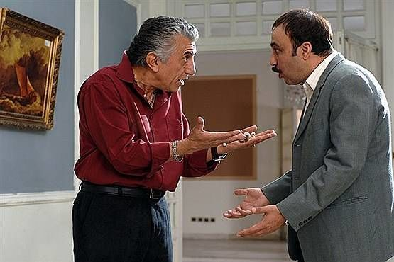 رضا عطاران و رضا کیانیان