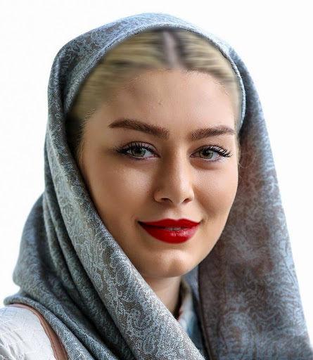 عکس پرتره از چهره زیبای سحر قریشی بازیگر زن