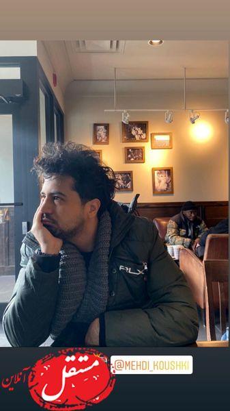 مهرداد صدیقیان در کافه های مونترال + عکس