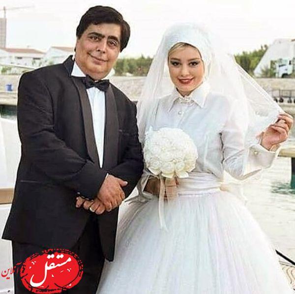 سحر قریشی در لباس عروس کنار بازیگر مشهور + عکس