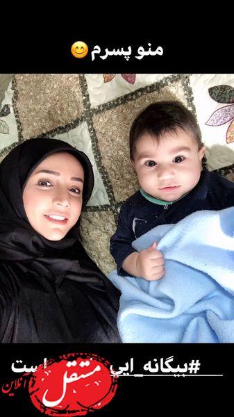 پسر کوچولوی شبنم قلی خانی + عکس