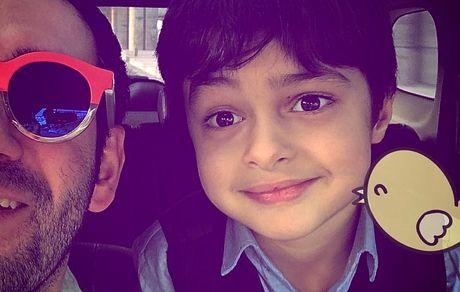 پسر شهاب حسینی در کنار نیمای خندوانه+ عکس