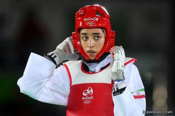 کیمیا علیزاده در المپیک ریو