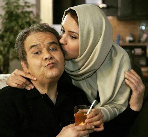 لاغری شدید اکبر عبدی + عکس عروسی دخترش