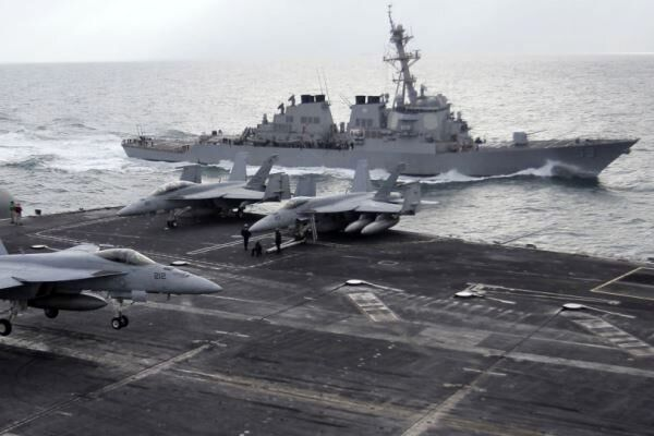 آغاز بهکار ائتلاف دریایی آمریکا در خلیج فارس