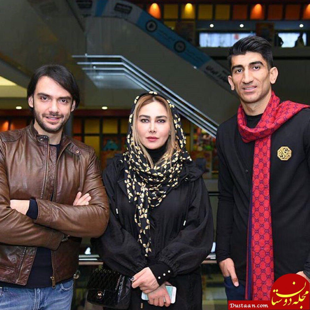 عکس یادگاری علیرضا بیرانوند با دو بازیگر سرشناس - مجله اینترنتی دوستان