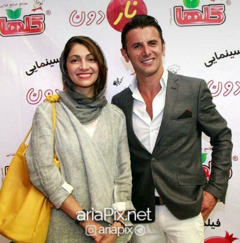 بیوگرافی امین حیایی و همسرش نیلوفر خوش خلق و پسرش دارا+ عکسها و گفتگو