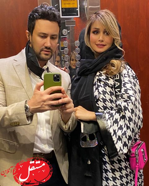 ست لاکچری همسر شاهرخ استخری غوغا به پا کرد + عکس