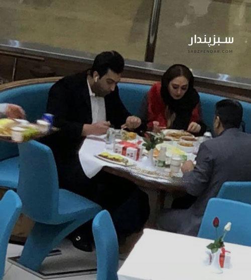 عکسی از الهام حمیدی و همسرش که لو رفت | پایگاه خبری جماران