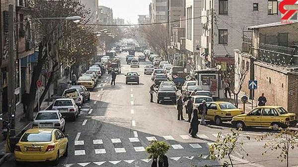 پشت پرده فیلم برهنگی زن تهرانی در خیابان پیروزی! / دیوانگی با مرگ کرونایی شوهر !