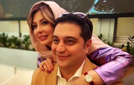 نیوشاضیغمی|جنجال عکس لورفته در آغوش همسرش +بیوگرافی و تصاویر جدید