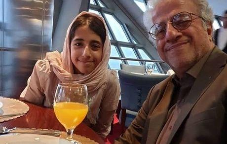 شباهت علیرضا خمسه و دخترش + عکس