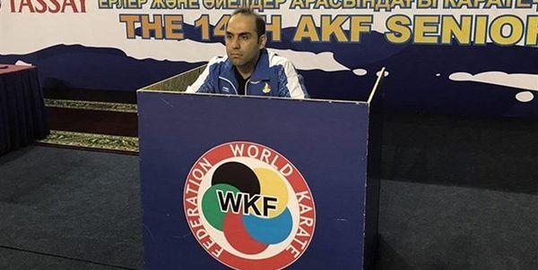 حسن روحانی مربی تیم ملی کاراته شد