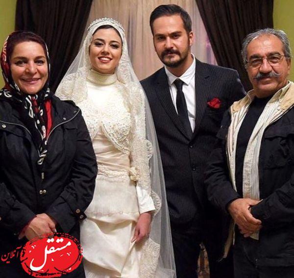 ازدواج میلاد کی مرام و بازیگر معروف + عکس